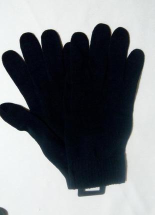 Перчатки мужские черные tcm tchibo