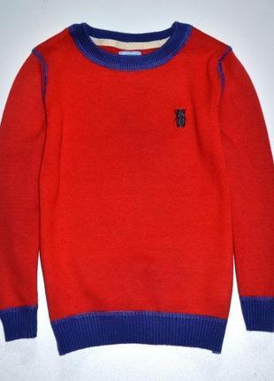 F&f свитер кирпичного цвета на мальчика  2-3 года .рост 98 см.