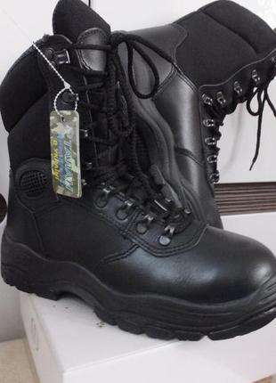 Кожаные ботинки берцы киборг талан р.41 стелька 26 см