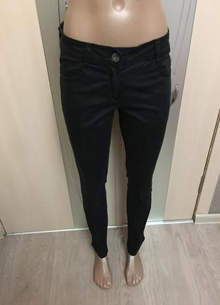 Чёрные штаны скини при покупке от 3х вещей доставка укр почтой бесплатно