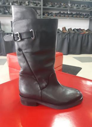 Кожанные зимние сапоги, полусапоги, ботинки