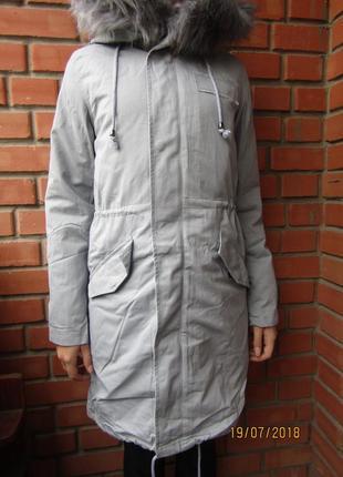 Парка куртка ветровка 3 в 1, деми/еврозима,134-170, венгрия