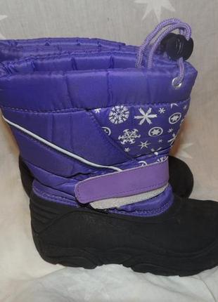Теплые непромокаемые сапоги для непогоды сortina 32