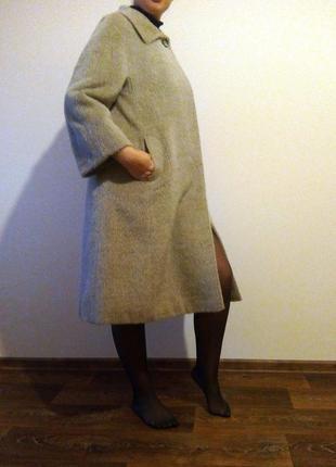 Пальто из ламы peter hahn, питер хан