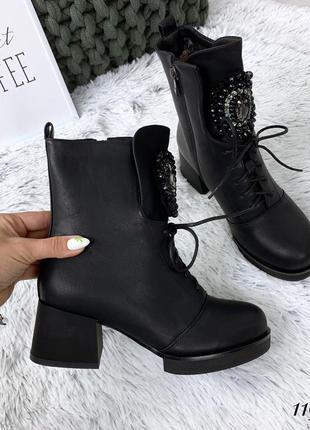 Стильные ботиночки на низком каблуке. размеры с 36 по 41