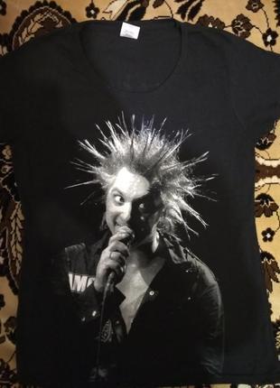 Улётная рокерская футболка с группой король и шут