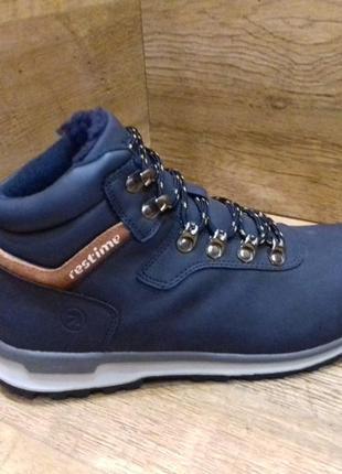 Зимние женские ботинки restime р. 36-41 полномерные