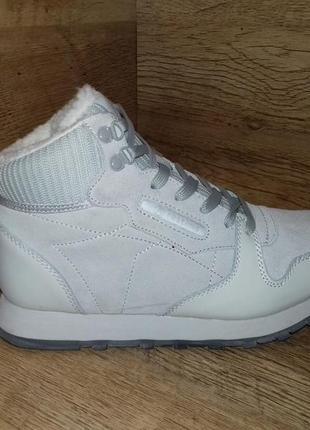 Зимние ботинки restime р. 36-41 2 цвета натуральная кожа