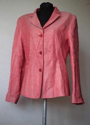 Пиджак aust 100% лен