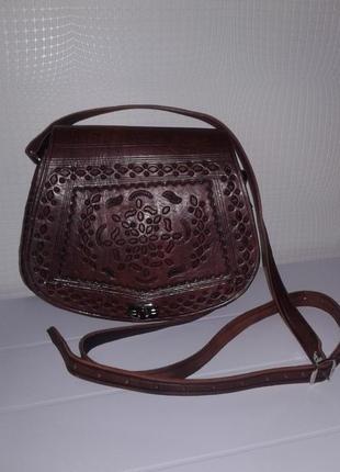 Hand made сумка сумочка кроссбоди натуральная кожа