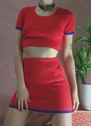 Комплект костюм набор юбка+топ