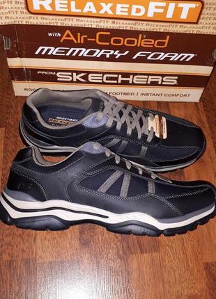 Осенние туфли кроссовки skechers memori