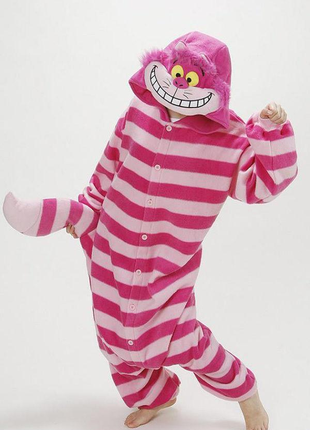 Пижама кугуруми домашний костюм чеширский кот алиса в стране чудес