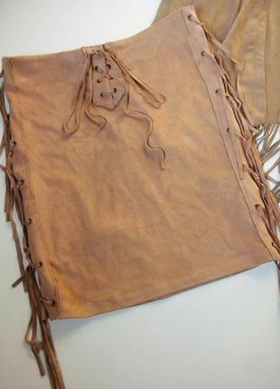 Стильная юбка в стиле бохо