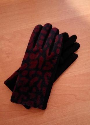 Перчатки осень,зима размер м-l tu