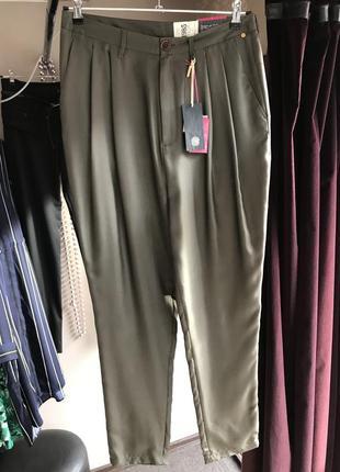 Шёлковые брюки