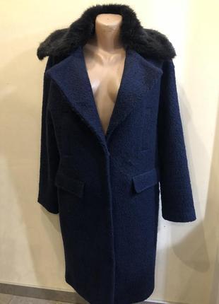 Шикарное пальто «букле» . зима .