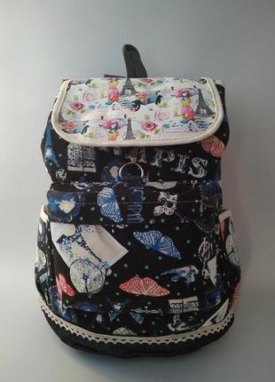 Тканевый женский рюкзак