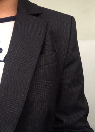 Крутой пиджак/жакет в клетку3
