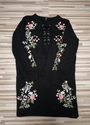 Платье оверсайз в стиле zara