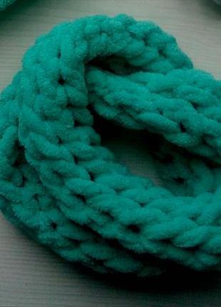 Воздушный снуд шарф, на 2-4 года
