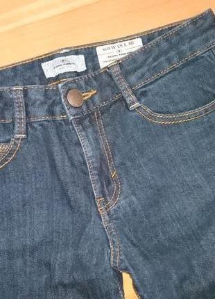 Отличные темно синие джинсы