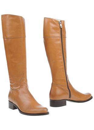 Кожаные сапоги alba moda италия