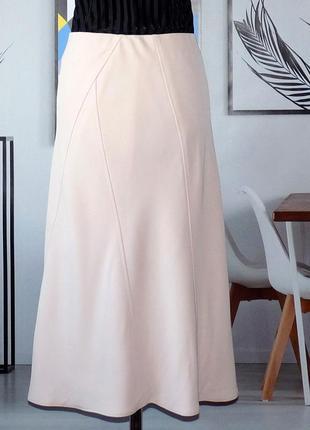 Юбка пудрового цвета от люксового бренда marc cain