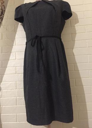 Платье-осень-зима