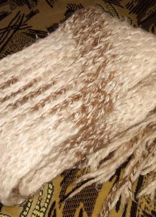 Теплющий шарфик на зиму