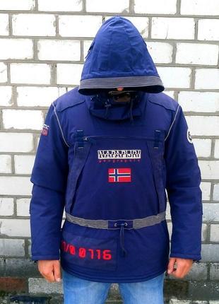 Куртка анорак napapijri ski-doo winter