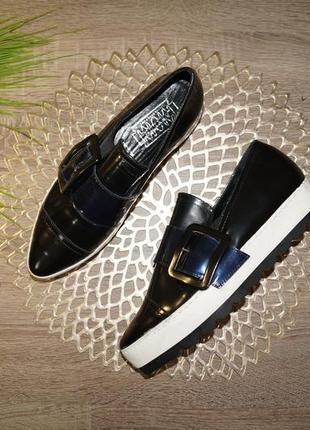 Женские туфли на платформе 2019 - купить туфли на высокой платформе ... 966d7456176