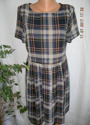 Платье в клетку dorothy perkins