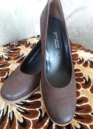 Мега удобные кожаные туфли