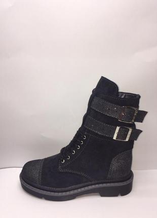 Зимние ботинки натуральная кожа размеры 36 37 38 39 40