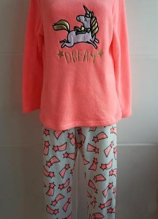 Чудесный теплый домашняя пижама