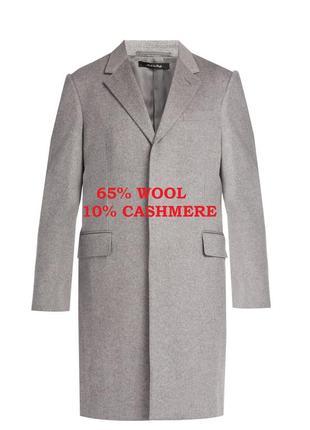 Бирка шикарное шерстяное кашемировое пальто меланж debenhams xxl 54