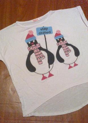 Модная футболка на 4-5 лет , стильная , футболочка