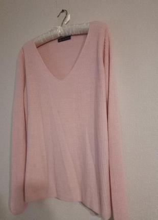 Нежный свитер, кофта света пудры
