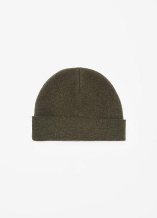 Cos шапка шерстяная зимняя 100% шерсть