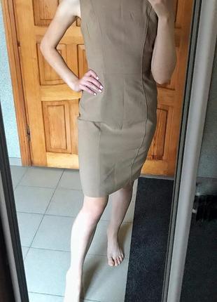 Классическое платье миди футляр размер с