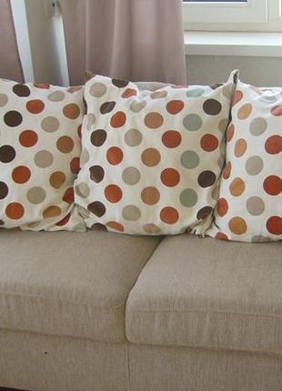 Подушки диванные цена 130грн за 1 шт.