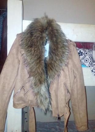 Куртка зимова стильна