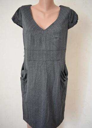 Осеннее элегантное платье miss selfridge