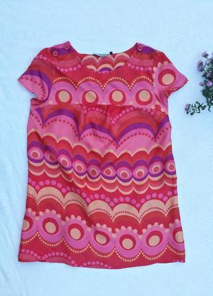 Платье туника яркая расцветка