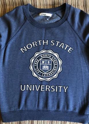 Новый свитер темно синего цвета