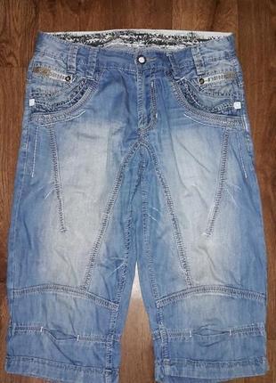 Стильные мужские джинсовые бриджи, шорты varxdar