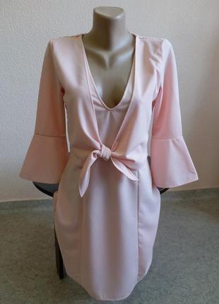 Платье с открытой спиной boohoo