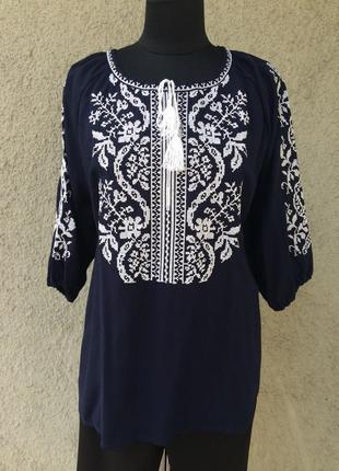 Блузки вышиванки / вышиванки штапель