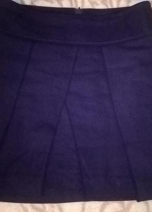 Шерстяная юбка turnover2 фото
